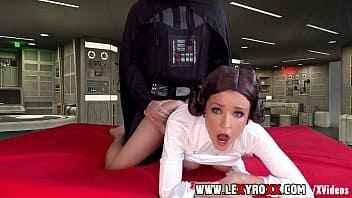 Imagen Prinzessin Leia isst Darth Vaders Schwanz
