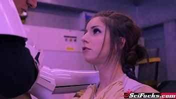 Imagen Die vollbusige Stella Cox wird von einem Star Wars-Soldaten gefickt