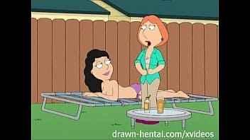 Imagen Hentai Family Guy: Lois Griffin und Bonnie Swanson berühren sich